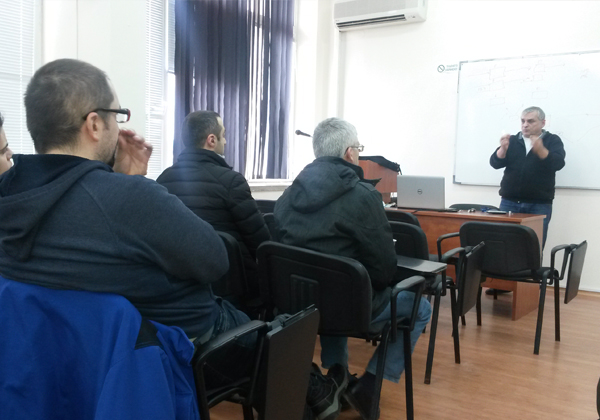 CyberSecurity at varna free university